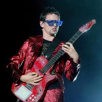 Matt Bellamy has been playing music to his unborn baby