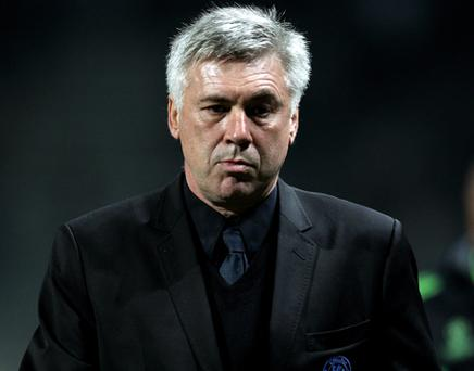 Carlo Ancelotti. Photo: Getty Images