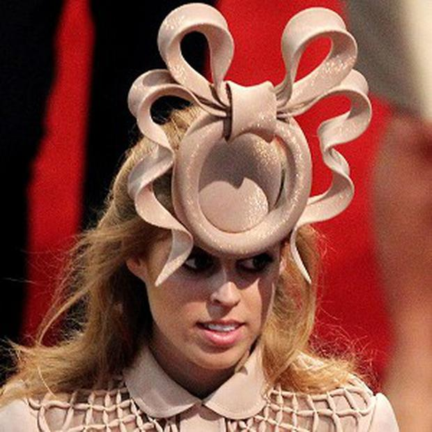The unusual hat Princess Beatrice wore to the royal wedding went for more than 81,000