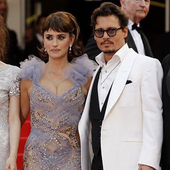 Penelope Cruz and Johnny Depp star in Pirates Of The Caribbean: On Stranger Tides
