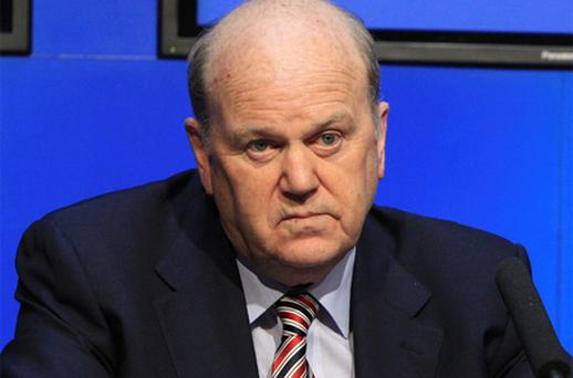 Finance Minister Michael Noonan Photo: Collins
