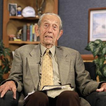 Harold Camping said his prophecy that the world would end was off by five months (AP)