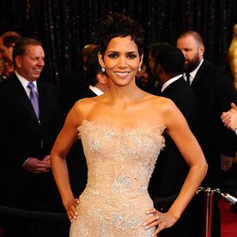 Halle Berry was spotted at a Kylie concert in Los Angeles