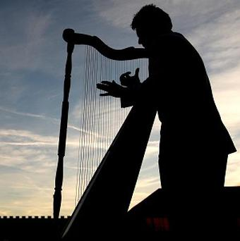 The Scottish Opera's T in the Park performance will include a harpist, a cellist and a singer