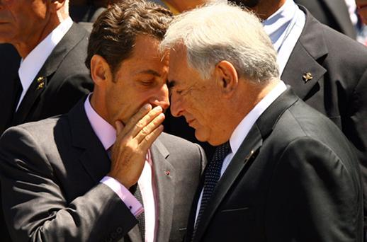 Nicolas Sarkozy's aides have long boasted that they had Mr Strauss-Kahn 'over a barrel' over several allegedly compromising sexual affairs, including police notes of him allegedly frequenting a Paris swingers club. Photo: Getty Images