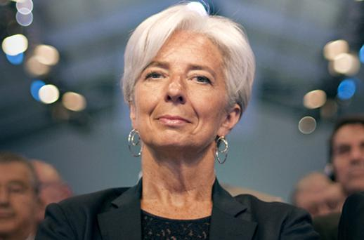 French finance minister Christine Lagarde. Photo: Getty Images