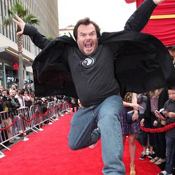 Jack Black says his son doesn't believe he is Po