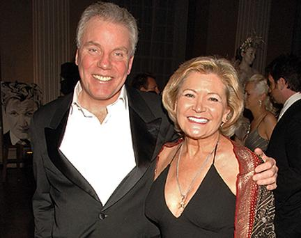 Chris Hutcheson and wife Greta pictured in 2006. Photo: Getty Images