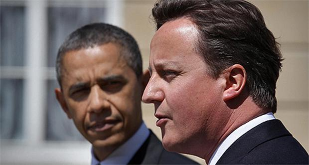 British Prime Minister David Cameron and US President Barack Obama have vowed to continue the fight against terror. Photo: PA