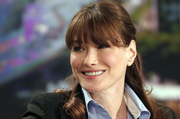 Growing evidence that France's First Lady, Carla Bruni, is pregnant makes her the latest in a long list of older celebrity mums. Photo: AP
