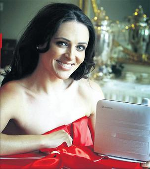 Gráinne Seoige has been drafted in to fight in the great Irish broadband war