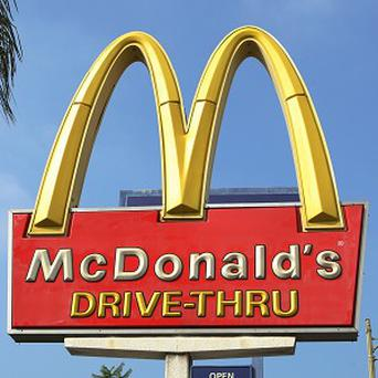 A woman was refused service at a McDonald's drive-through amid safety concerns over her vehicle - a horse and carriage