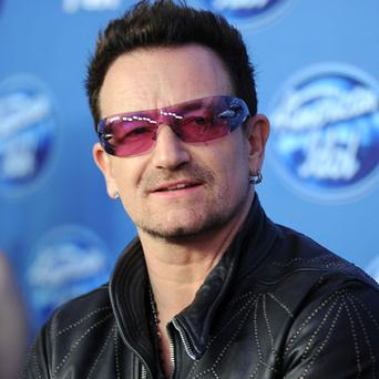 Bono: sang on hit US show Photo: Getty Images