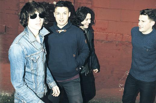 Arctic Monkeys play Oxegen on Saturday, July 9
