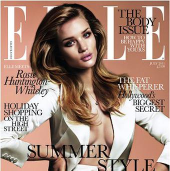Rosie Huntington-Whiteley has vowed not to give in to image pressures