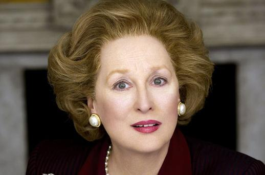 Oh, Maggie: Streep, in character, bears a striking resemblance to the Iron Lady