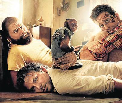 MONKEY BUSINESS: Hangover 2 rehashes all the best bits