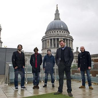 Elbow said they were delighted to play a gig at St Paul's Cathedral
