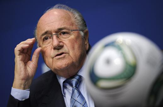 Sepp Blatter: will go into election as only candidate. Photo: Getty Images