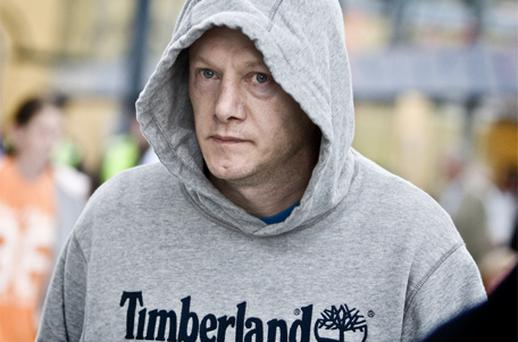 Larry Murphy: flew in from Spain to collect passport