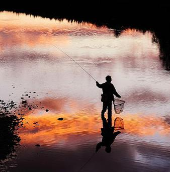 Fishing is being used as a form of therapy in the Greater Glasgow and Clyde region