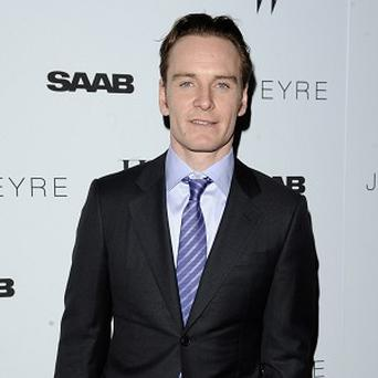 Michael Fassbender said he just had to go with the flow when it came to his Magneto costume