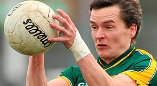 Meath captain Seamus Kenny