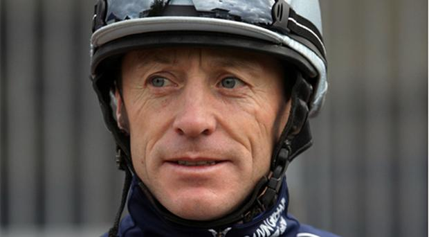 Fallon: riding for O'Brien in Derby
