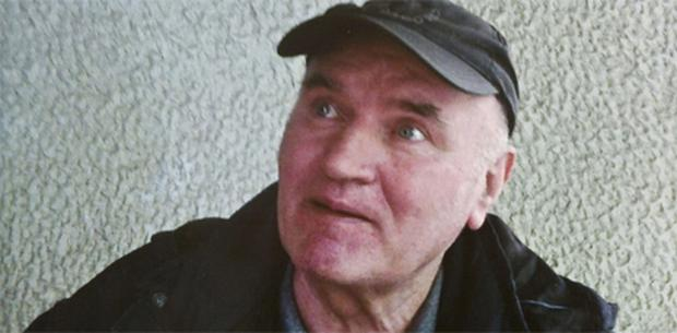 Ratko Mladic pictured shortly before the time of his arrest. Photo: PA