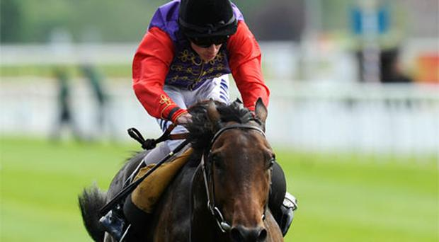 Ryan Moore riding Carlton House. Photo: Getty Images