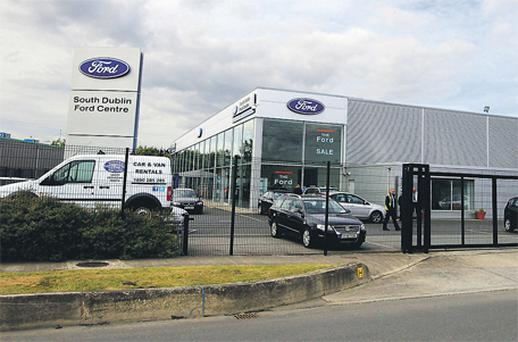 The South Dublin Ford Centre, Cookstown Way, Tallaght, where a receiver has been appointed