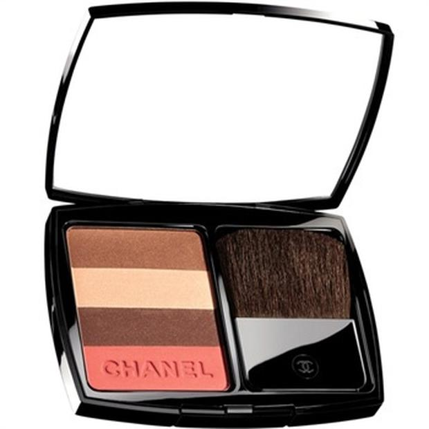 Chanel Limited Edition Bronze Rose Soleil