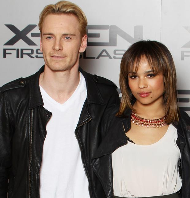 Michael Fassbender and Zoe Kravitz are reportedly dating. Photo: Getty Images
