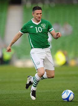 Groin strain: Robbie Keane. Photo: Getty Images