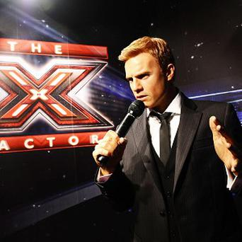 Gary Barlow's waxwork is ready for his new X Factor role
