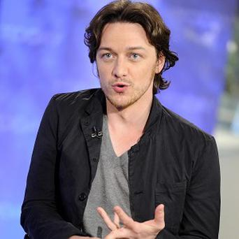 James McAvoy stars in X-Men: First Class