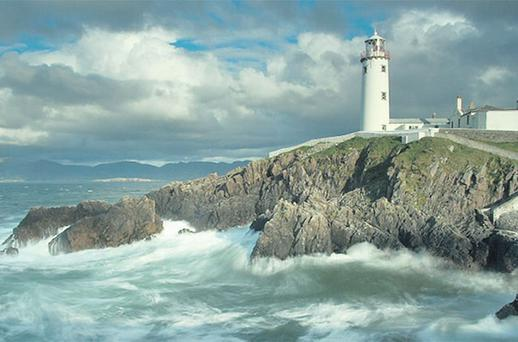 BEAUTIFUL SIGHT: Fanad Head Lighthouse in Donegal is a major tourist attraction, but to rent a holiday home nearby could cost you an arm and a leg. Photo: Andy McInroy
