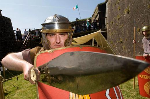 Eoin Kavanagh at Duncannon Fort, Co Wexford