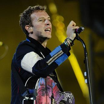Chris Martin and Coldplay are due to top the bill at the Glastonbury Festival