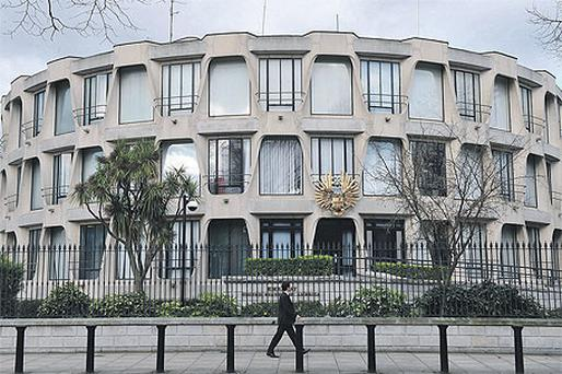 The US embassy in Dublin. The diplomatic cables leaked to Wikileaks and made available to the Irish Independent have given a valuable insight into the workings of the US mission in Ireland