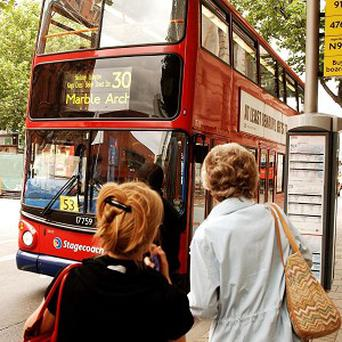 A record amount of lost property was left on public transport in London during the past year