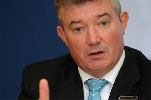 Bank of Ireland chief executive Richie Boucher has resolved to stay put