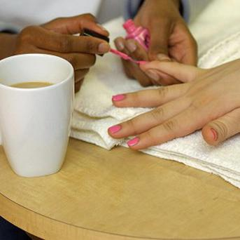 A beauty salon in Essex is offering haircuts, nail painting and even spray tans for under-13s