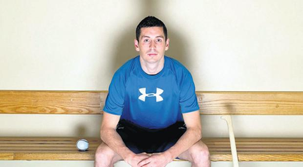Dublin's Alan McCrabbe at the unveiling of Under Armour as the official performance base layer partner of the Dublin senior football and hurling teams for 2011