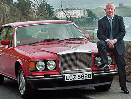 Solicitor Vincent O' Donoghue pictured in Killiney in 2002. Photo: Tony Gavin