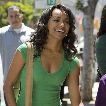 Katerina Graham isn't expecting to follow in the footsteps of Jessica Alba