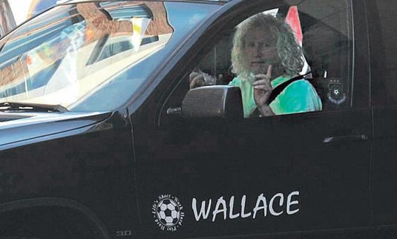 Mick Wallace drove the wrong way down the oneway Strand Street Great in Dublin before leaving his car in an underground car park