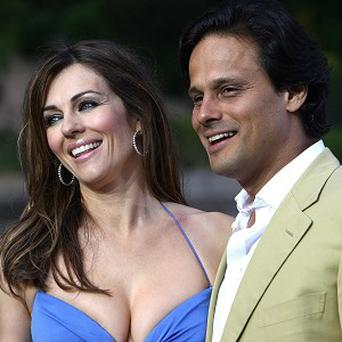 Elizabeth Hurley and Arun Nayar's four-year marriage is due to end in a quickie divorce on Wednesday