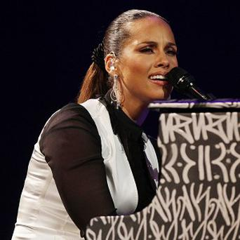 Alicia Keys performed at the Royal Albert Hall