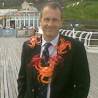 Mayer of Cromer Greg Hayman insists he is not in office to 'revel in its privileges'